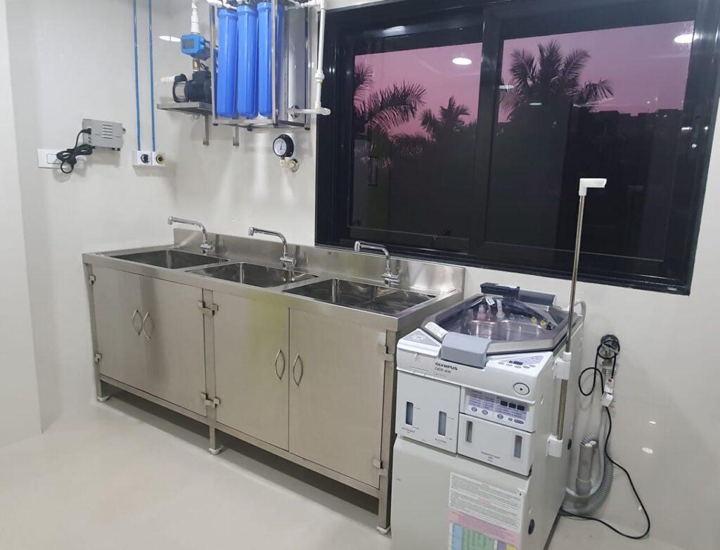 CMP Metal Endoscopy room equipments
