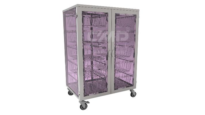 CSSD Basket Distribution Trolley