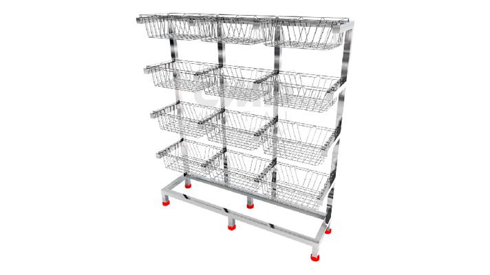CSSD-Basket-Rack