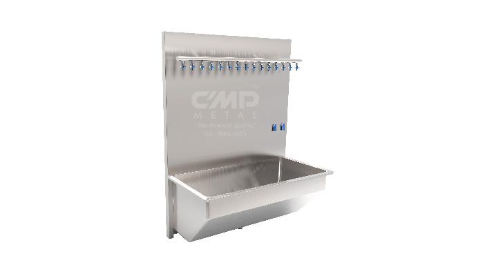 Catheter-Washing-Sink