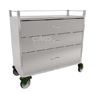 IVF Incubator Box Moving Trolley