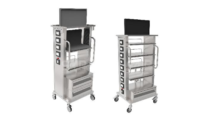 Laparoscopic-Monitor-Trolley