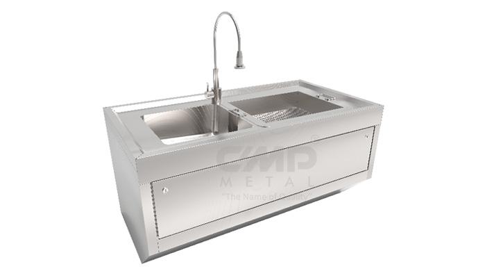 Wall Mounted Instrument Washing Sink