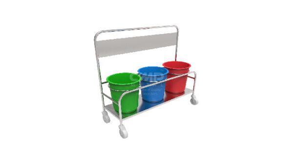 Waste Dustbin Trolley