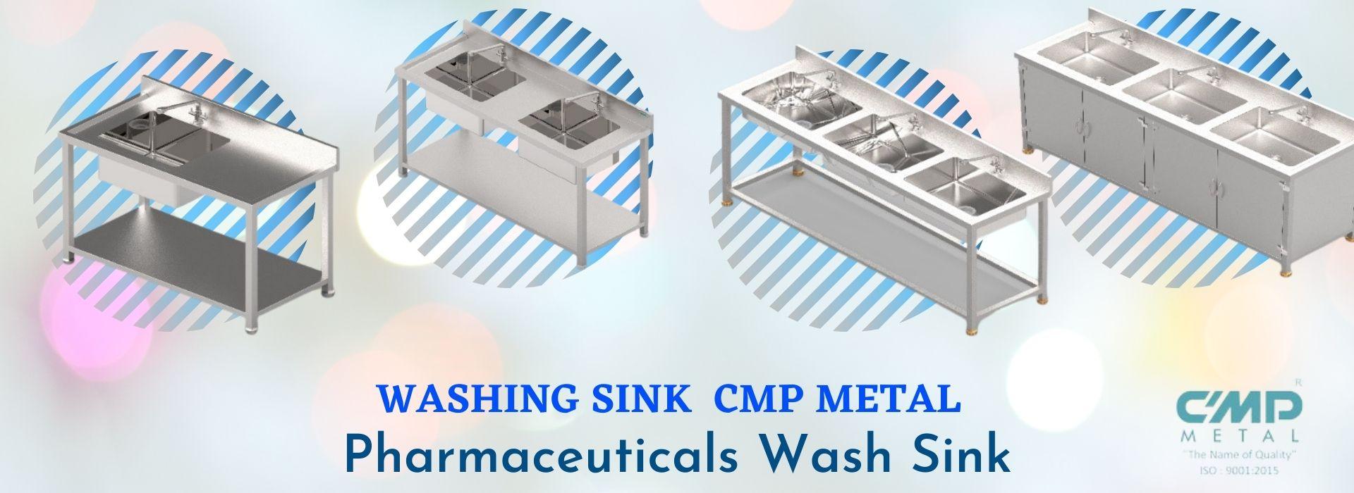 Washing Sink Cmp Metal Pharmaceuticals Wash Sink